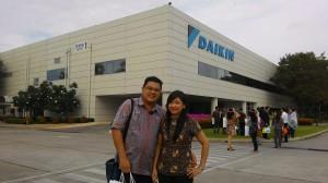 daikin factory visit januari 2016